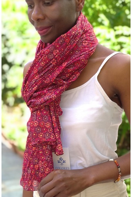 Elegant  100% Cotton Scarf  / Womens cotton Scarf  / Cotton Wrap / Cotton Sarong [CLONE]