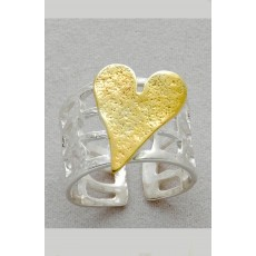 Beautiful  Silver  ring  /     Anniversary ring / Gift for her  / St valentine s day gift