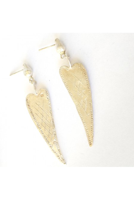 Handmade Earrings of 950 silver