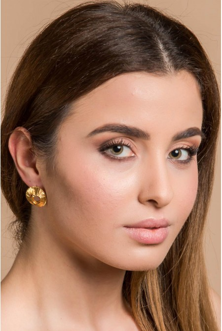 Handmade Gold Vermeil Earrings inspired by the Greek Tradition / Traditional Jewelry / Ancient Greek Jewelry